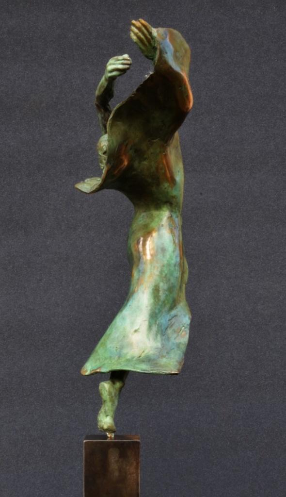danseuse moderne III 33 x 14 x 8 broze