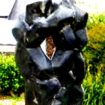 sculpture abstraite