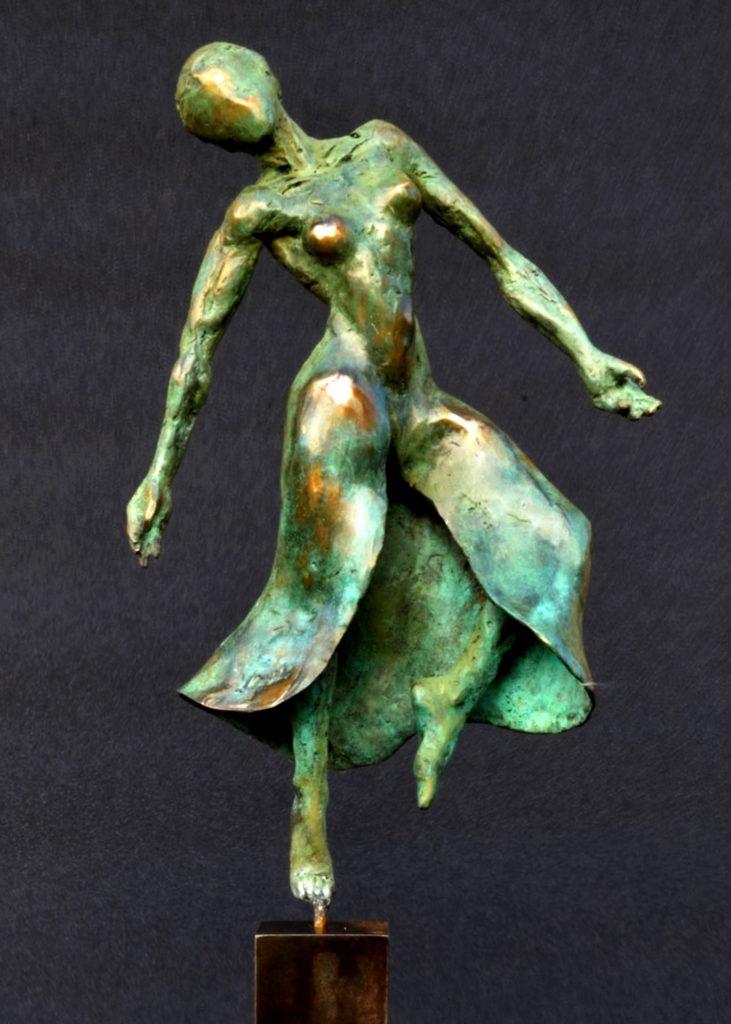 sculpture danseuse en bronze